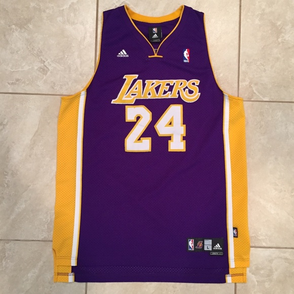 bcbe0b93e adidas Other - ADIDAS LA Lakers Kobe Bryant Basketball Jersey